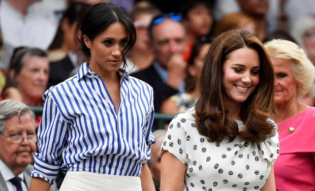 Kate Middleton y Meghan Markle hacen gala de su buena relación en Wimbledon
