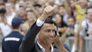 Cristiano Ronaldo, tras el reconocimiento médico / Gtres.