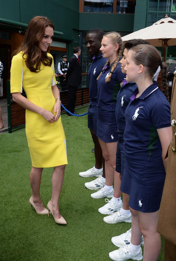 Kate Middleton en Wimbledon 2016
