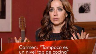 Carmen Alcayde, durante el programa / Mediaset.