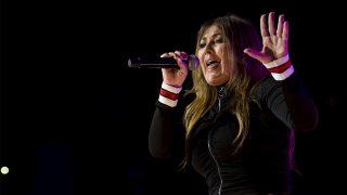 Amaia Montero, durante un concierto / Gtres.