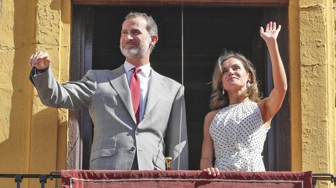 Doña Letizia se pone flamenca en Bailén y reafirma su afición por el vinilo