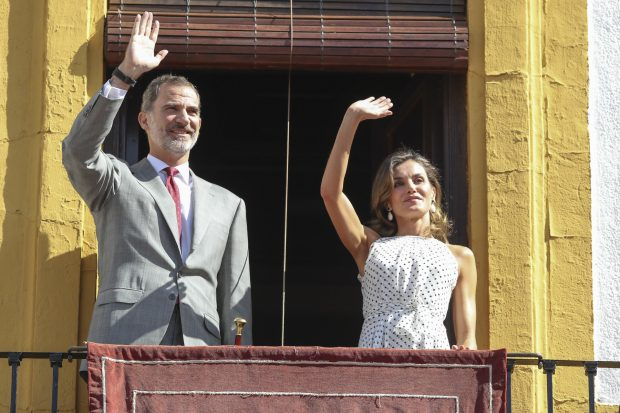 Los Reyes en Bailén / Gtres