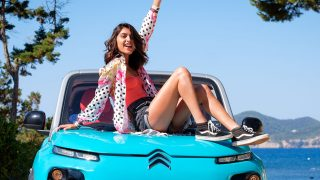 Lucía Rivera se sincera / Imagen promocional de Citroen