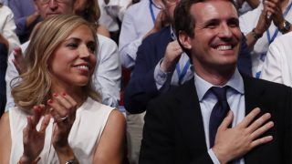 Ambos se han mostrado muy cómplices y felices en el auditorio /Mediaset