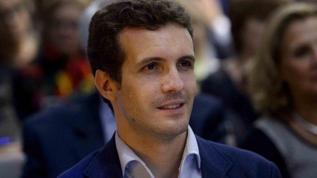 El político Pablo Casado