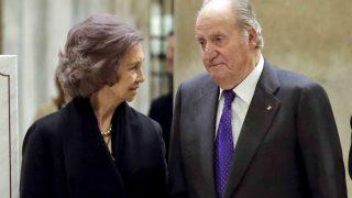 La reina Sofía y el rey Juan Carlos en una imagen de archivo /Gtres
