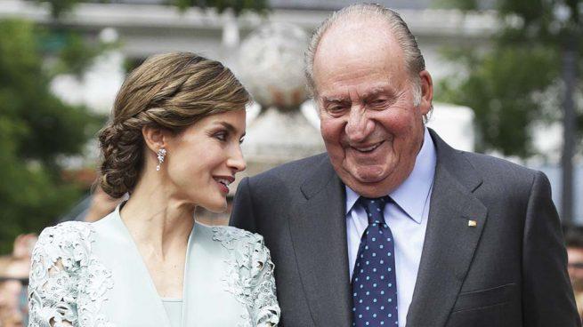 reina Letizia rey Juan Carlos