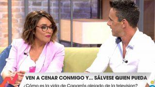 Toñi Moreno recibe a Alonso Caparrós en 'Viva la vida' / Telecinco.