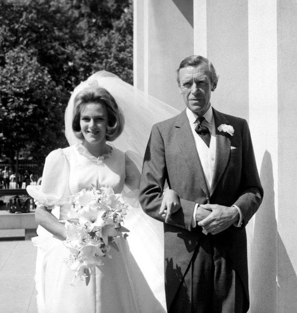 Camilla y su padre / Gtres
