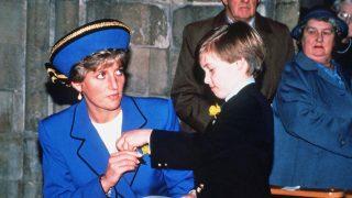 Diana de Gales y el príncipe Guillermo / Gtres