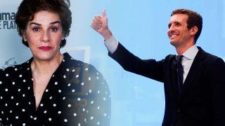 Anabel Alonso enciende la red con su respuesta a Pablo Casado / Gtres