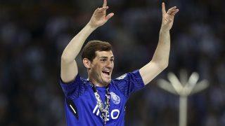 Iker Casillas, celebrando con el Oporto / Gtres.