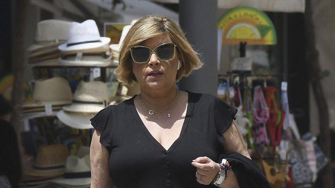 Terelu Campos, escapada por Málaga antes de los resultados de su operación