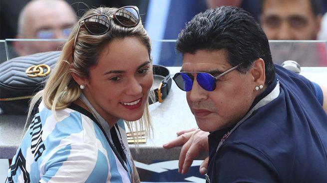 Diego Armando Maradona Rocío Oliva