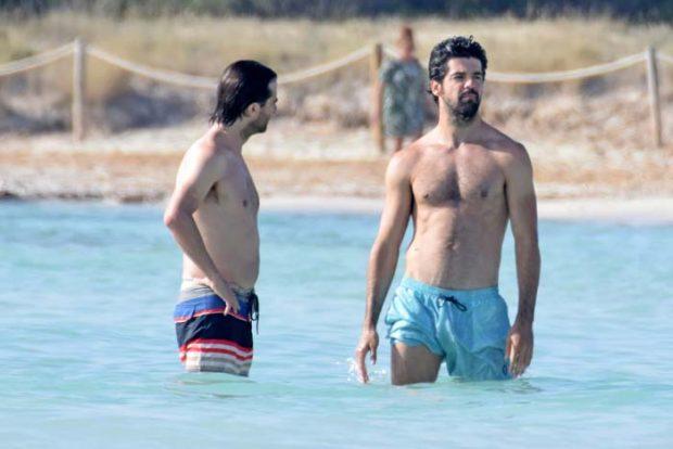 Miguel Ángel Muñoz bañador Ibiza
