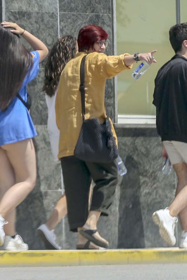 Sandra Ortega, su estilo
