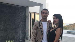 Cristiano y Georgina, de vacaciones / @Cristiano.