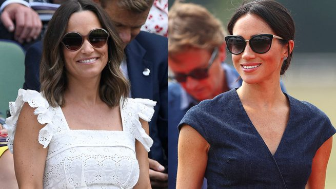 Pippa Middleton y Meghan Markle / Gtres