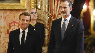 El Rey preside el encuentro y la cena de gala en honor al presidente Macron / Gtres