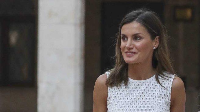 Inquietante efecto óptico de una foto de la familia real de España