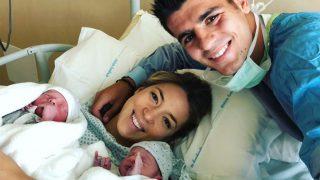 Morata y Alice ya son padres por primera vez /Instagram