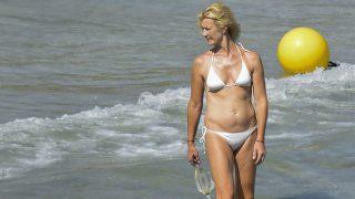 Ana Duato, de vacaciones en la playa / Gtres.