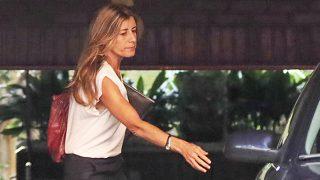 GALERÍA: Así ha sido la despedida de Begoña Gómez de sus compañeros de trabajo / Gtres