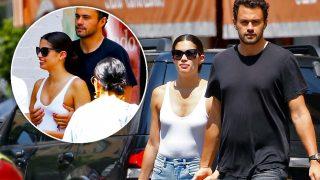 La sorprendente imagen de Sara Sampaio y su novio en público / Gtres