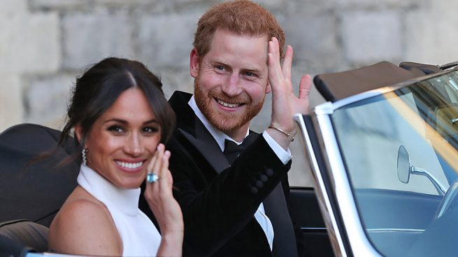 Meghan y Harry el día de su boda / Gtres