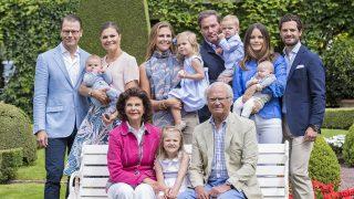La Familia Real Sueca en una imagen de archivo / Gtres