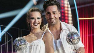 Yana Olina y David Bustamante tras ganar 'Bailando con las estrellas'/ Gtres