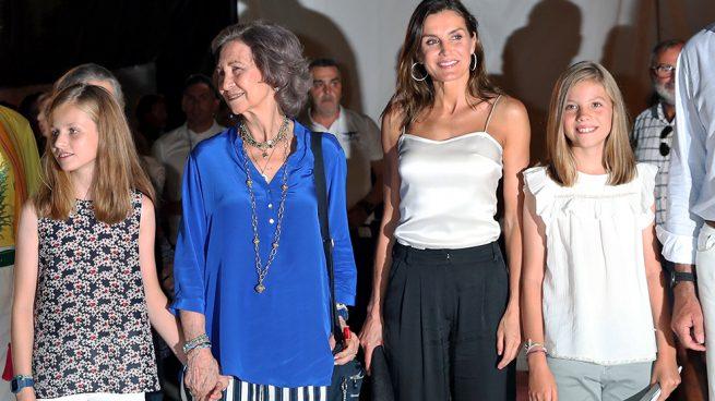 """""""Su suegra la vuelve loca"""": La prensa italiana arremete contra la relación entre doña Sofía y doña Letizia"""
