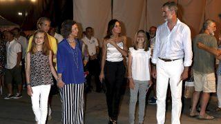 Galería: La Familia Real de concierto en Palma de Mallorca  / Gtres.