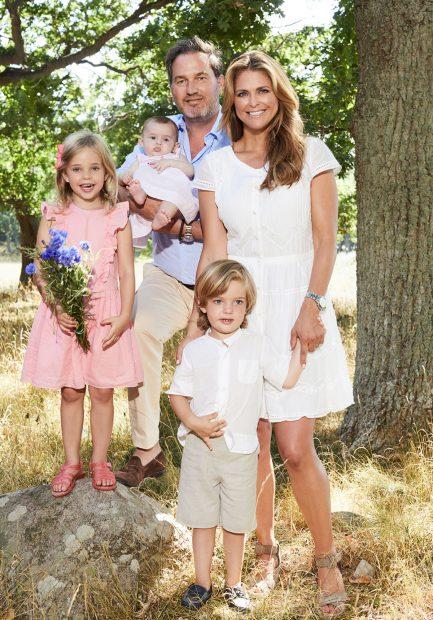 Magdalena de Suecia y Chris O'Neill vuelven a EEUU