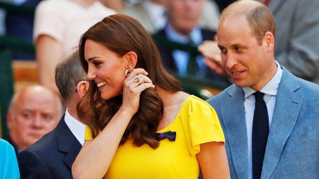 Kate Middleton con el anillo de citrino / Gtres