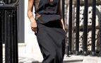 La diseñadora de moda Victoria Beckham en Londres