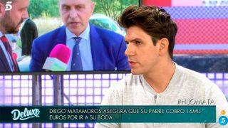 Diego Matamoros en 'Sábado Deluxe' / Telecinco