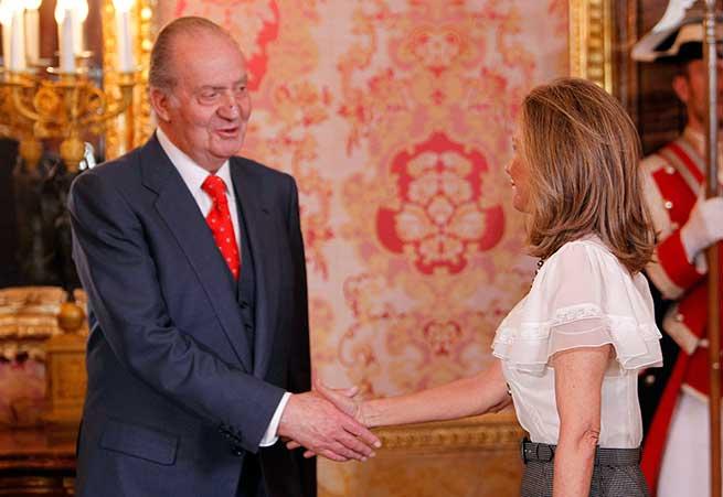 Don Juan Carlos y Alicia Koplowitz