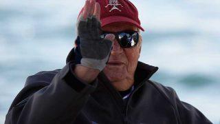 El rey Juan Carlos I, navegando / Gtres