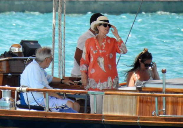 Constantino y Ana María están disfrutando de sus vacaciones en Spetses / Gtres