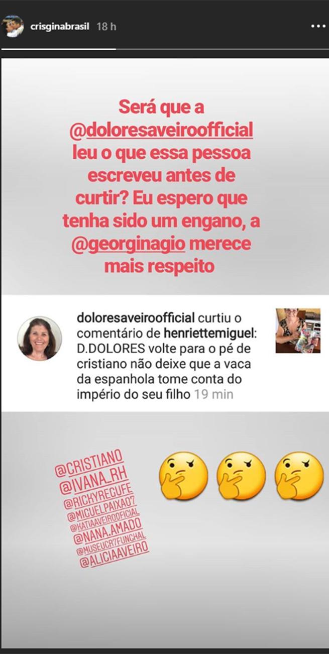 Dolores Aveiro dispara contra Georgina sin piedad: este ha sido su último ataque