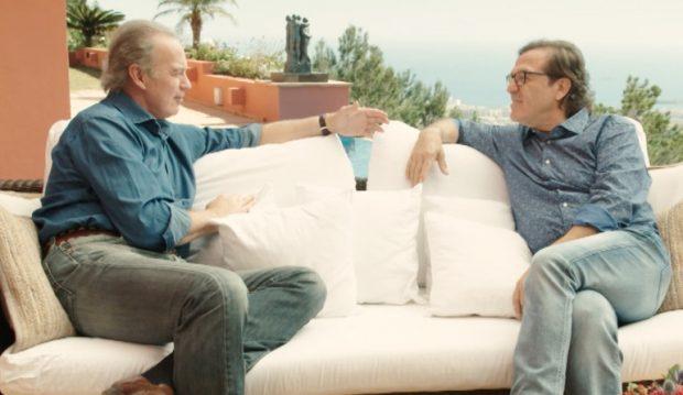 Bertín Osborne y Pepe Navarro