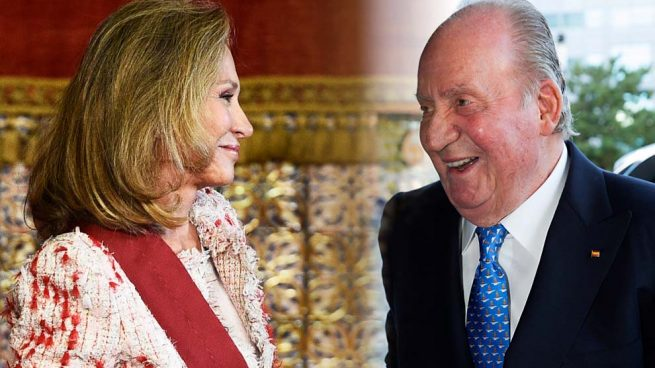Alicia Koplowitz y el rey Juan Carlos