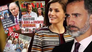 La familia real española protagoniza las cabeceras de crónica social portuguesas