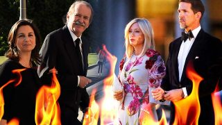 Los duques de Braganza, Pablo de Grecia y Marie Chantal Miller / Gtres