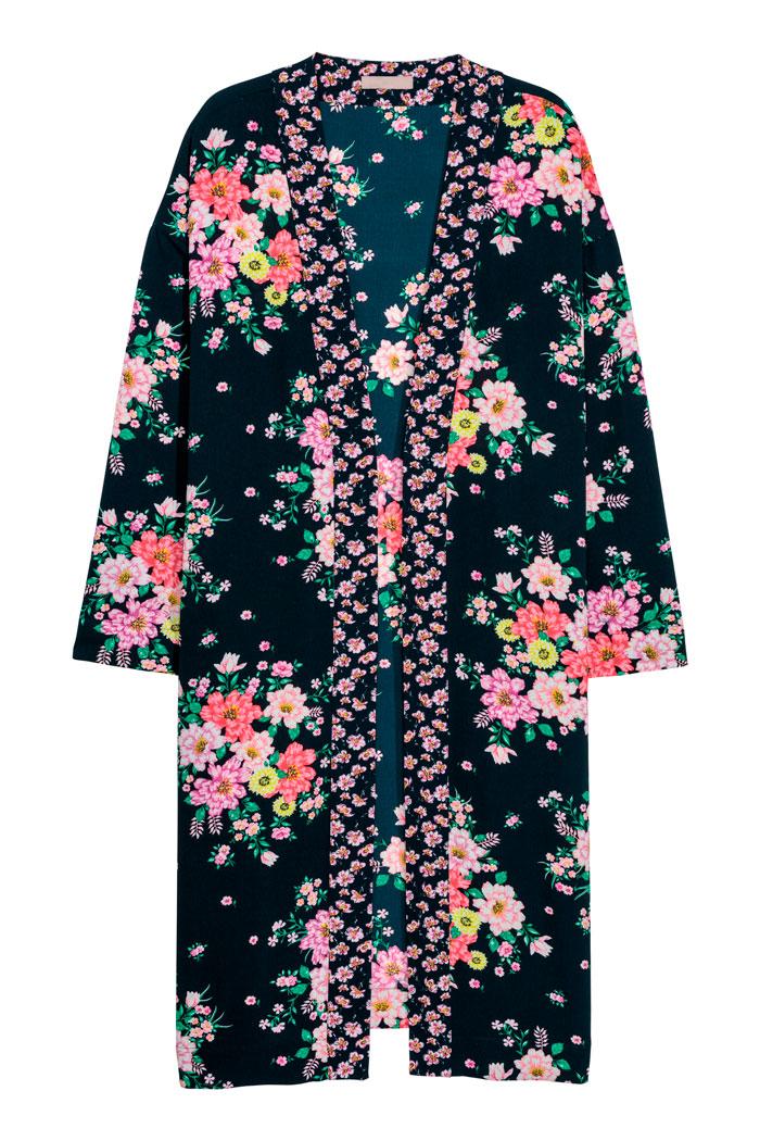Kimono flores H&M