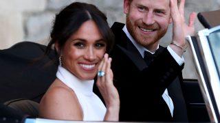 Meghan y el príncipe Harry el día de su boda / Gtres