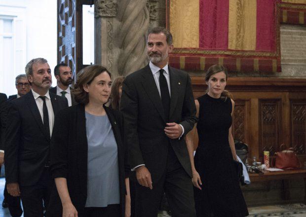 Don Felipe y doña Letizia el pasado año en Barcelona / Gtres