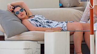Alba Díaz en una imagen de archivo durante sus vacaciones de verano / Gtres